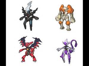 Pokemon Deoxys All Forms
