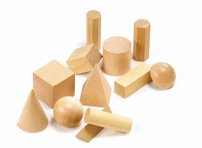 Wooden Shapes Solids Geometric