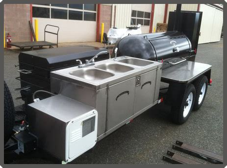 Restaurant Stainless Steel Sinks by Custom Barbecue Trailers Grillbillies Barbecue Llc