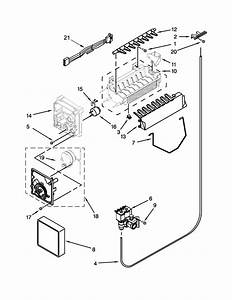 Ice Maker Parts Diagram  U0026 Parts List For Model 10651122211