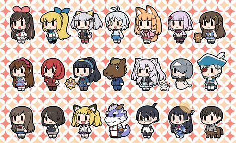 virtual vtuber youtuber youtubers channel moemi reddit siro fanart cross wonderful redd anime zerochan shiki kasuka reiden gijutsu yua chintai