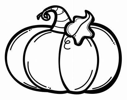 Pumpkin Clipart Coloring Halloween Printable Vegetables Pechay