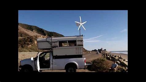 windynations rover wind turbine generator mounted