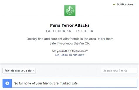 attacks lead to s safety check and hashtag porteouverte daily mail