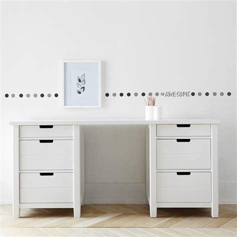 bedroom desk with drawers sutton drawer storage desk pbteen