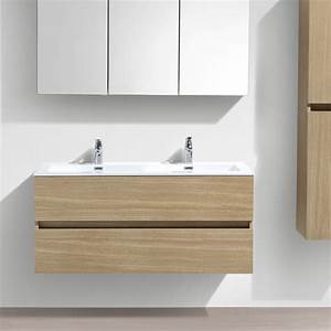 meuble salle de bain design double vasque siena largeur With vasque de salle de bain design