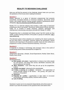 How To Write A College Essay Paper Reality Tv Shows Essay Example Japanese Essay Paper also Essays Written By High School Students Reality Tv Essays  Angry Men Essay Negative Effects Of Reality  What Is A Thesis Statement For An Essay