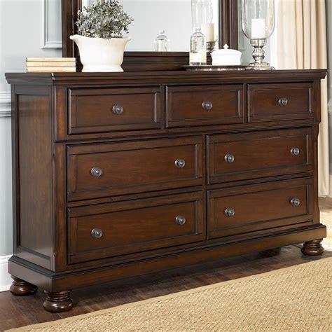 Millennium Porter Bedroom Set Furniture Porter 7 Drawer Dresser Wayside