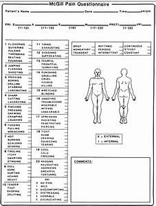 Mcgill Pain Questionnaire