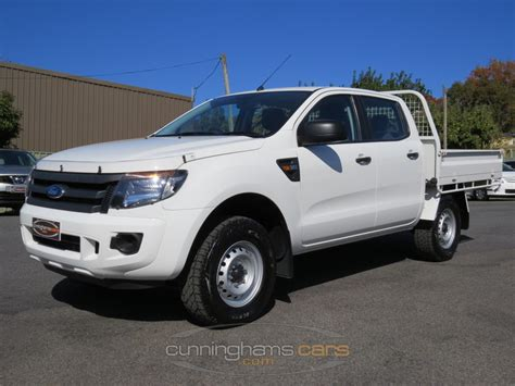 ford ranger 2013 cab 2013 ford px ranger xl 4wd dual cab flat tray 3 2 turbo diesel ute for sale in launceston tas