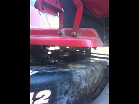 troy bilt deck belt problem
