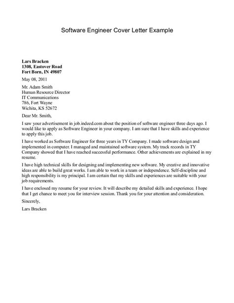 cover letter field engineer outline technical support