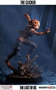The Last Of Us Clicker Statue