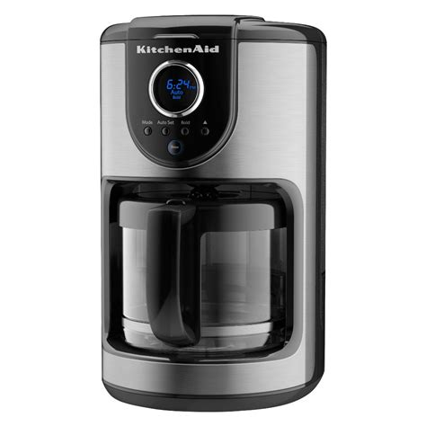 Fits any size cup or mug. Enjoy a great cup of coffee. This 12-cup glass carafe coffee maker features a 1-4 cup mode for ...