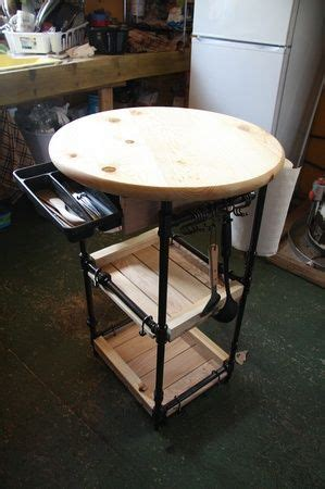 pipe kitchen island 17 best images about wrought iron wood pipes on 1526