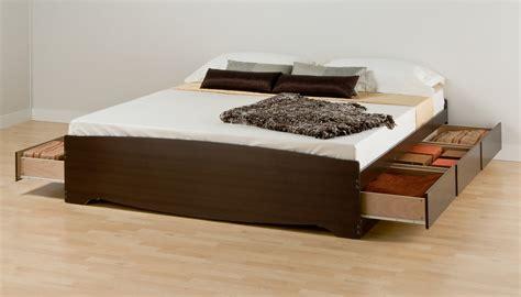 Prepac King 6 Drawer Platform Storage Bed By Oj Commerce