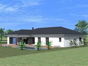 Maison Architecte Plain Pied : maison plain pied architecte ~ Melissatoandfro.com Idées de Décoration