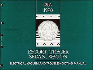 1998 Ford Escort Mercury Tracer Electrical Troubleshooting
