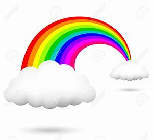 Rainbow Butterfly clipart rainbow cloud - Pencil and in ...