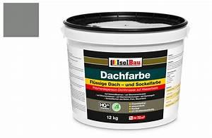 Dachlack Für Dachpappe : dach und sockelfarbe dachbeschichtung dachlack 12 kg steingrau polymermembran ebay ~ Orissabook.com Haus und Dekorationen