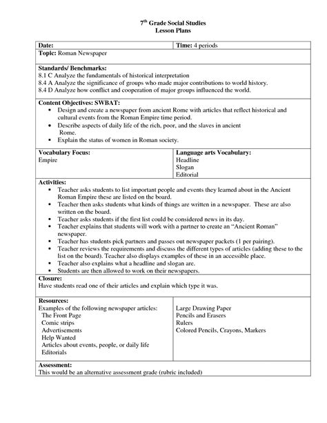 lesson plans high school civics 15 best images of middle school social studies worksheets
