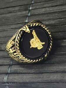 sultano ottomano uomo tugra anello in oro ottomani anello turco sultano
