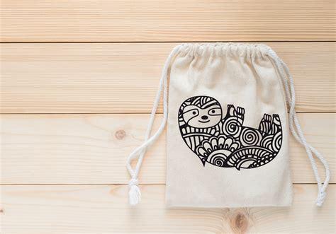Free Sloth Mandala Svg, Png, Eps & Dxf By Caluya Design