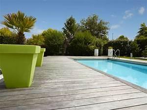 Eclairage Terrasse Piscine : terrasse bois sur mesure atelier madec nantes 44 ~ Melissatoandfro.com Idées de Décoration