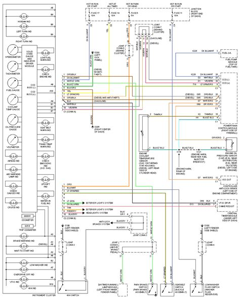 dodge ram 1500 wiring diagram with fuel module and