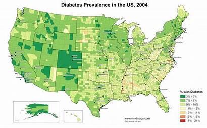 Diabetes United States Prevalence Maps Vivid