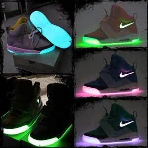 Light-Up Nike Shoes Air Jordans