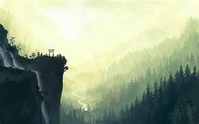 Desktop Wallpapers Nature Painting Backgrounds Pixelstalk Tribute