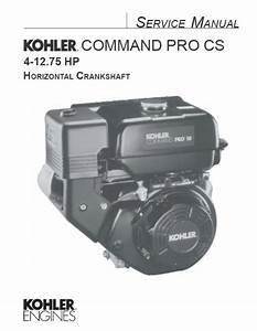 Kohler Service Manual 63 690 01 For Cs4