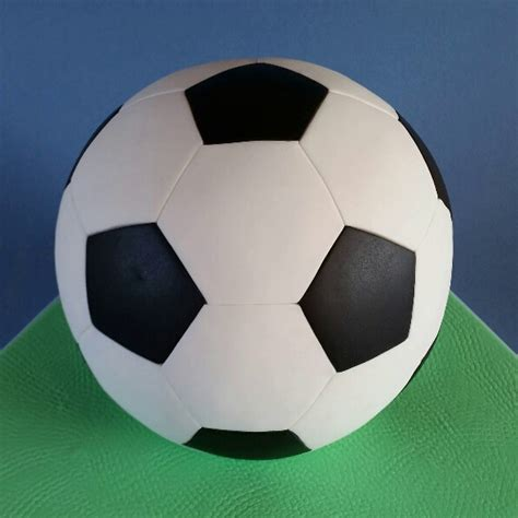 bakeria football hexagon pentagon sugarcraft cutter set