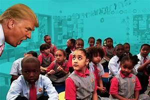 black-latino Kids with bumrushing Trump | Black ...