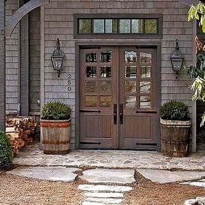 25 best ideas about farmhouse front doors on pinterest With barn house front doors