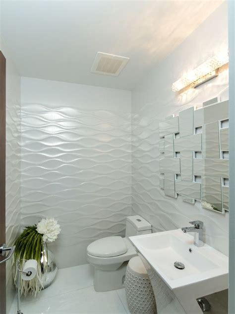 modern powder room  daltile gallery white ceramic