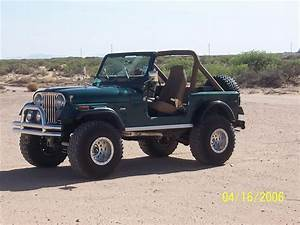 1980 Jeep Cj7    I Will Have A Yellow One Someday