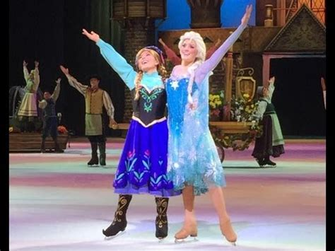 disney  ice  years  magic show featuring frozen
