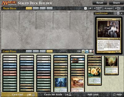 sealed deck builder 5 9 2013 daily mtg magic the
