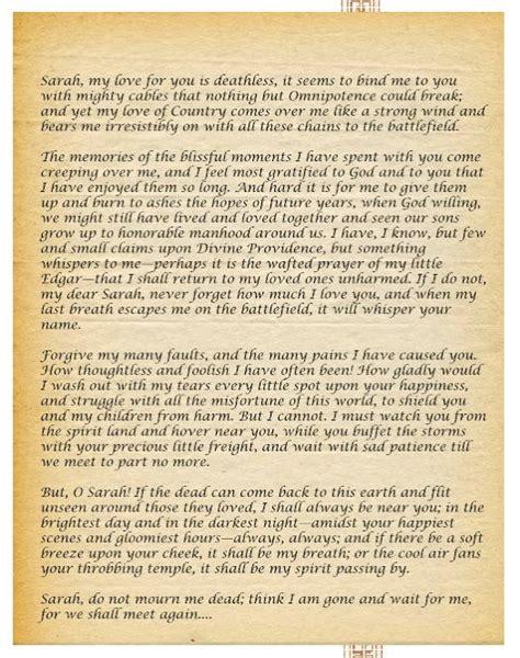 sullivan ballou letter this is a letter written by major sullivan ballou of the 29933