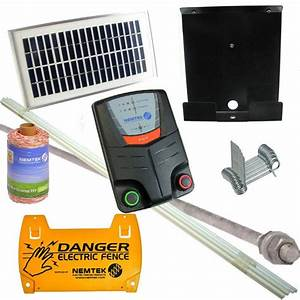 solar powered electric dog fence dog containment fencing With dog electric fence kit