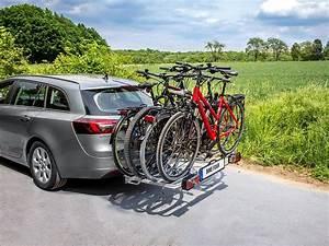Fahrradträger Heckklappe Test : fahrradtr ger f r die anh ngerkupplung f r 4 fahrr der im ~ Kayakingforconservation.com Haus und Dekorationen