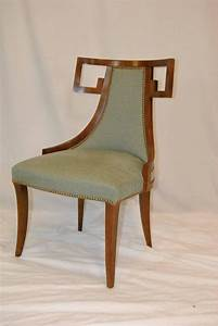 Set Of Eight Thomas Peasant Greek Dining Chairs By Baker