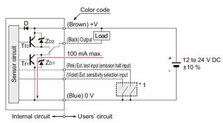 Wafer Mapping Sensor Circuit Wiring Diagrams
