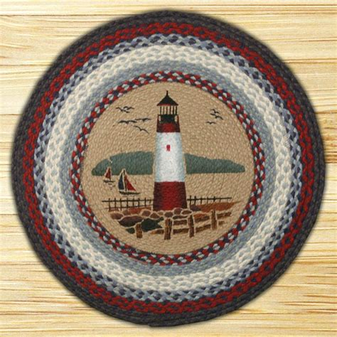 capitol earth rugs lighthouse braided jute rug by capitol earth rugs