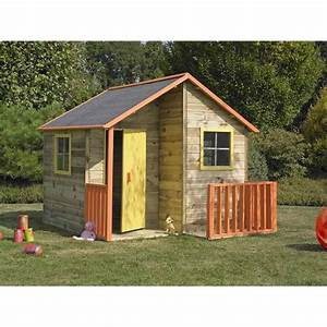 Maison Enfant En Bois : cabane enfant loulou en bois couleur unique forest style ~ Dailycaller-alerts.com Idées de Décoration