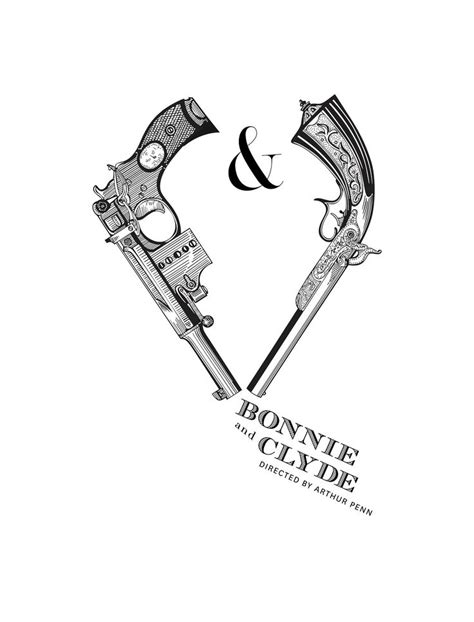 bonnie and clyde drawings - Google Search | Bonnie and clyde tattoo, Country couple tattoos