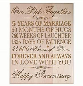 Top 20 best 5th wedding anniversary gifts heavycom for Five year wedding anniversary