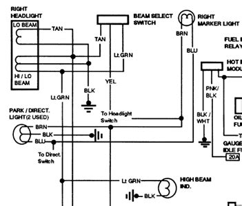 Free Headlight Wiring Diagram For Gmc Sierra